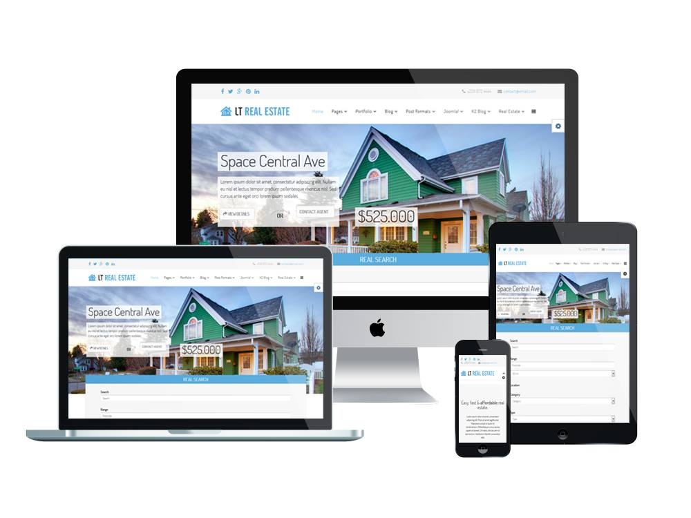 Joomla Real Estate Templates