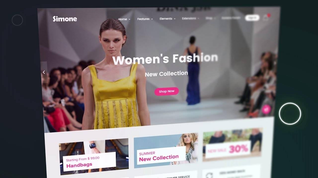 Joomla Shopping Cart Template Free