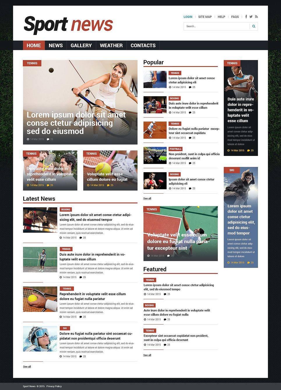 Joomla Sports Templates