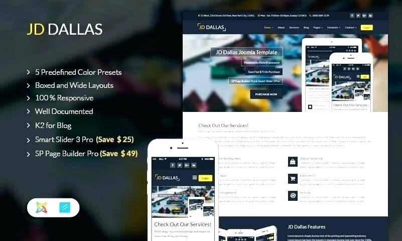 Joomla Template Maker Free Download
