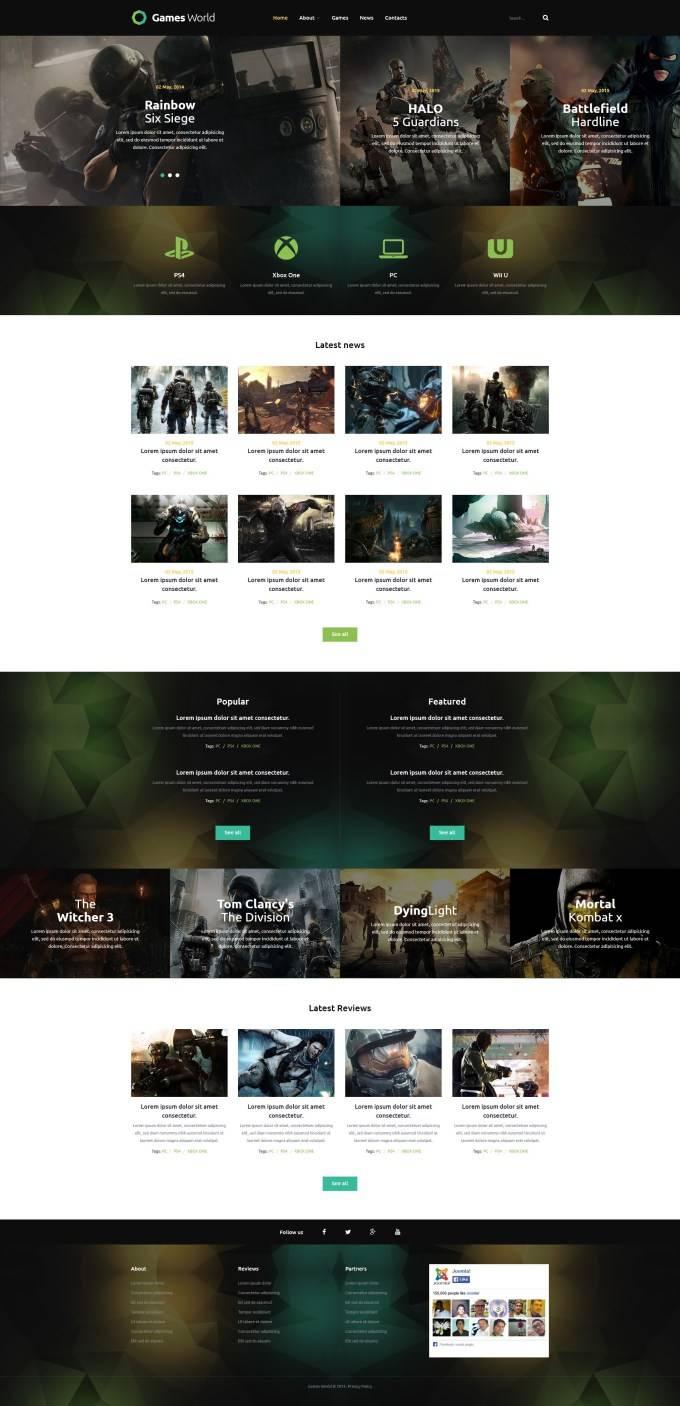Joomla Templates Directory Site