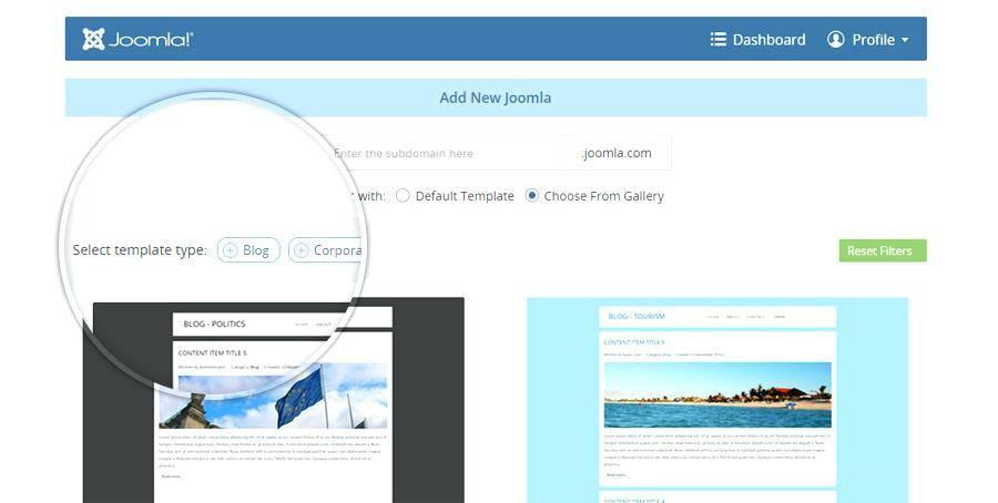 Joomla Templates Maker Software