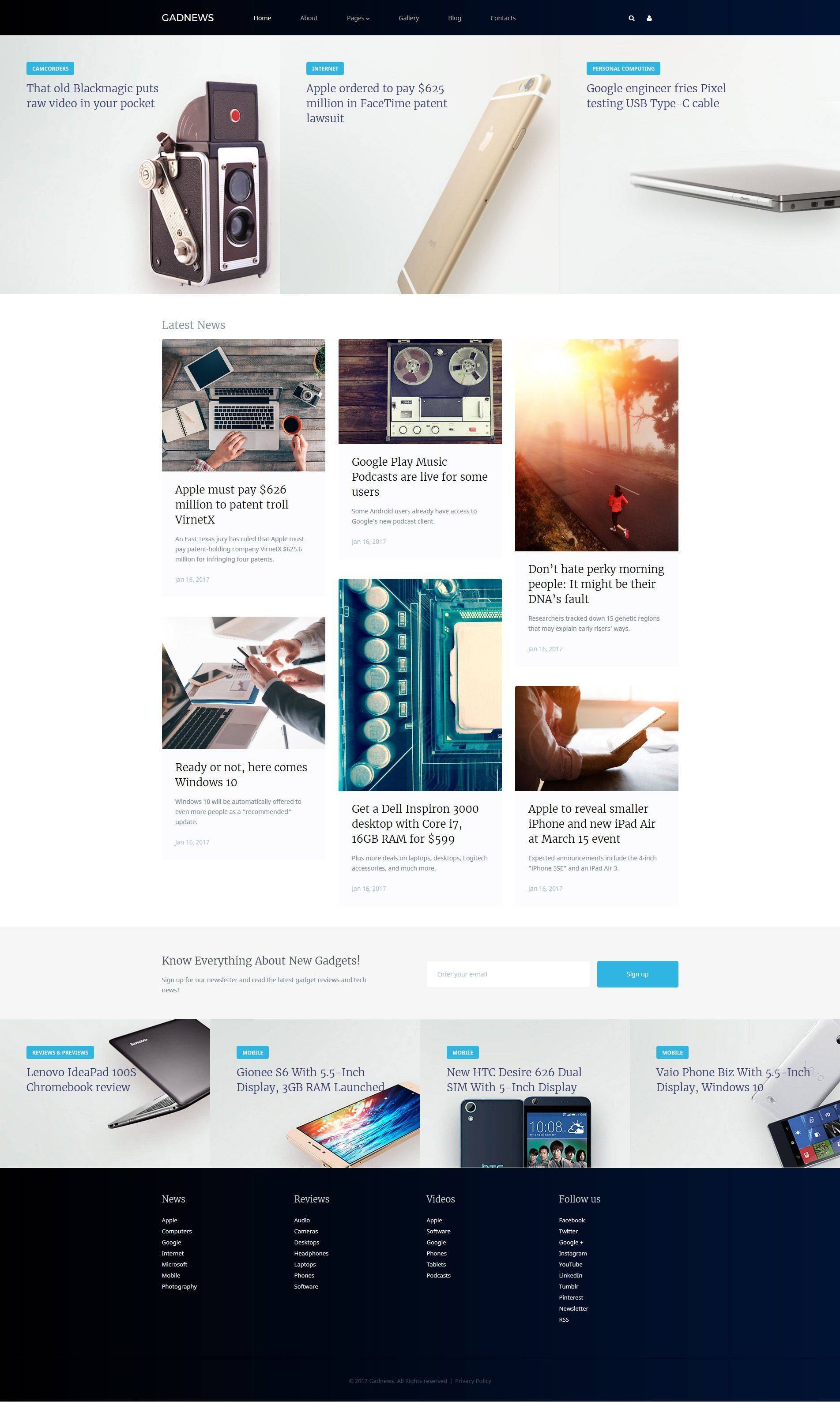 Joomla Website Templates Responsive