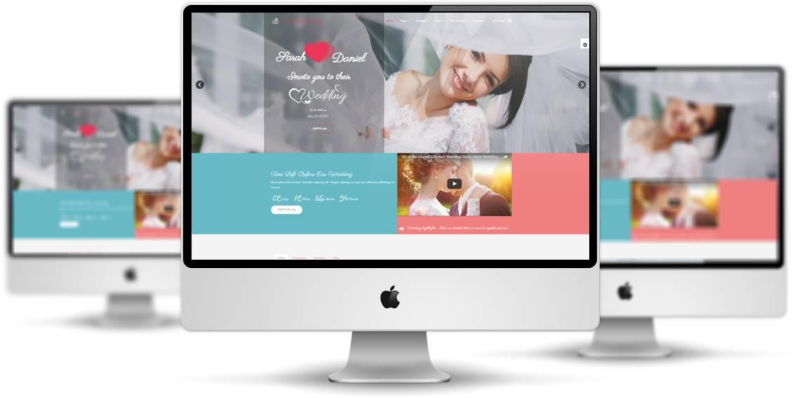 Joomla Wedding Template Free