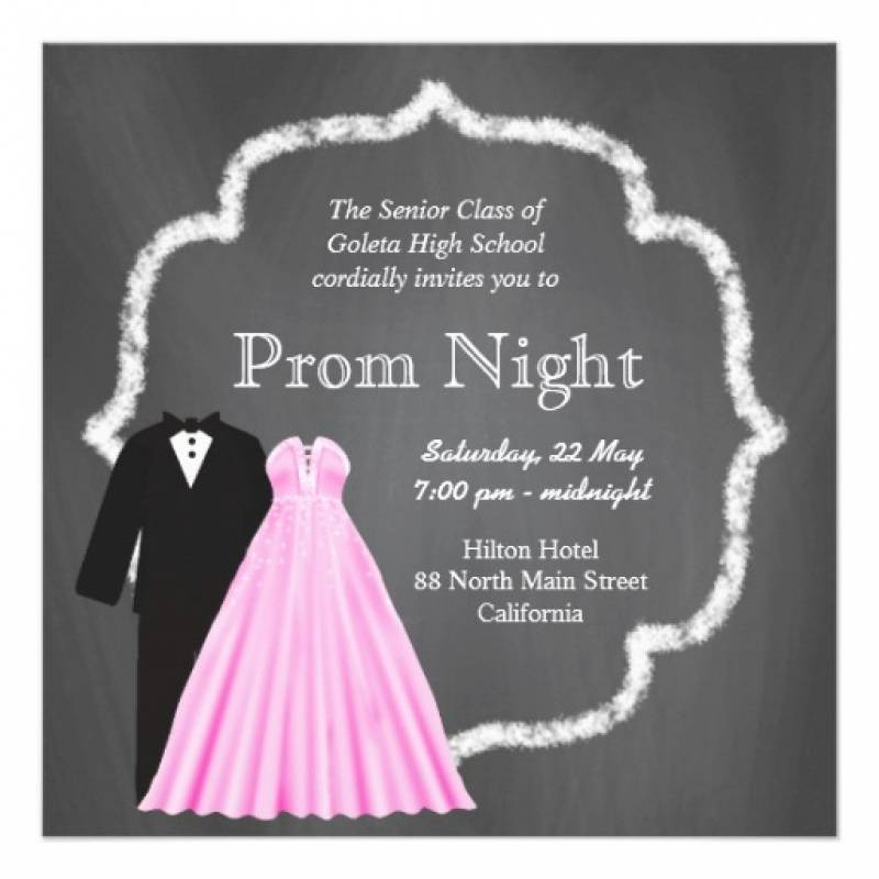 Js Prom Invitation Templates
