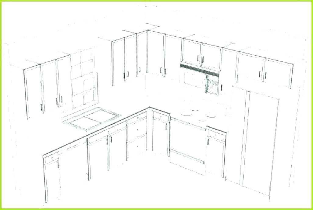 Kitchen Design Layout Template