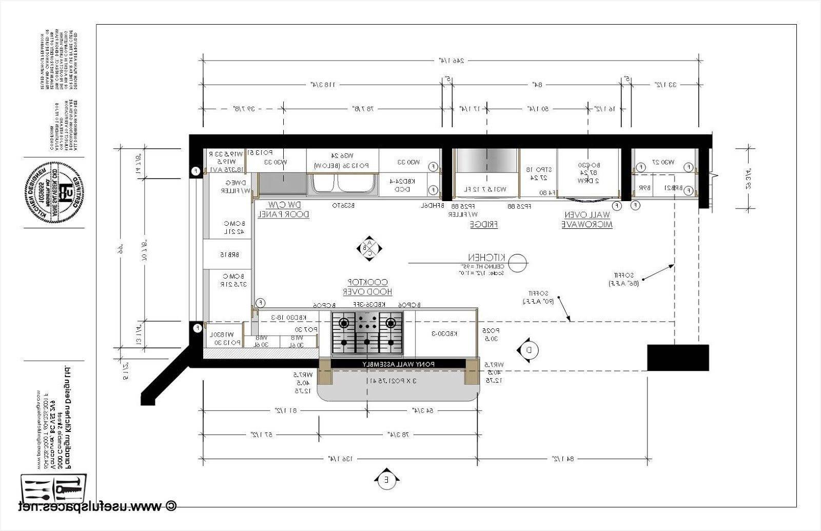Kitchen Design Layout Templates