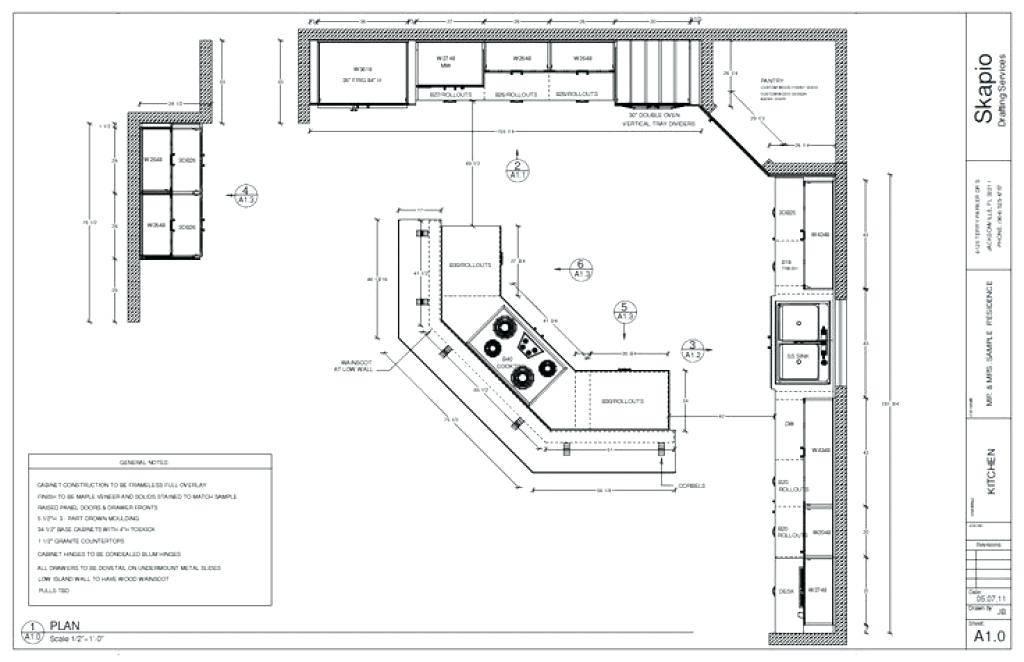 Kitchen Plans Template