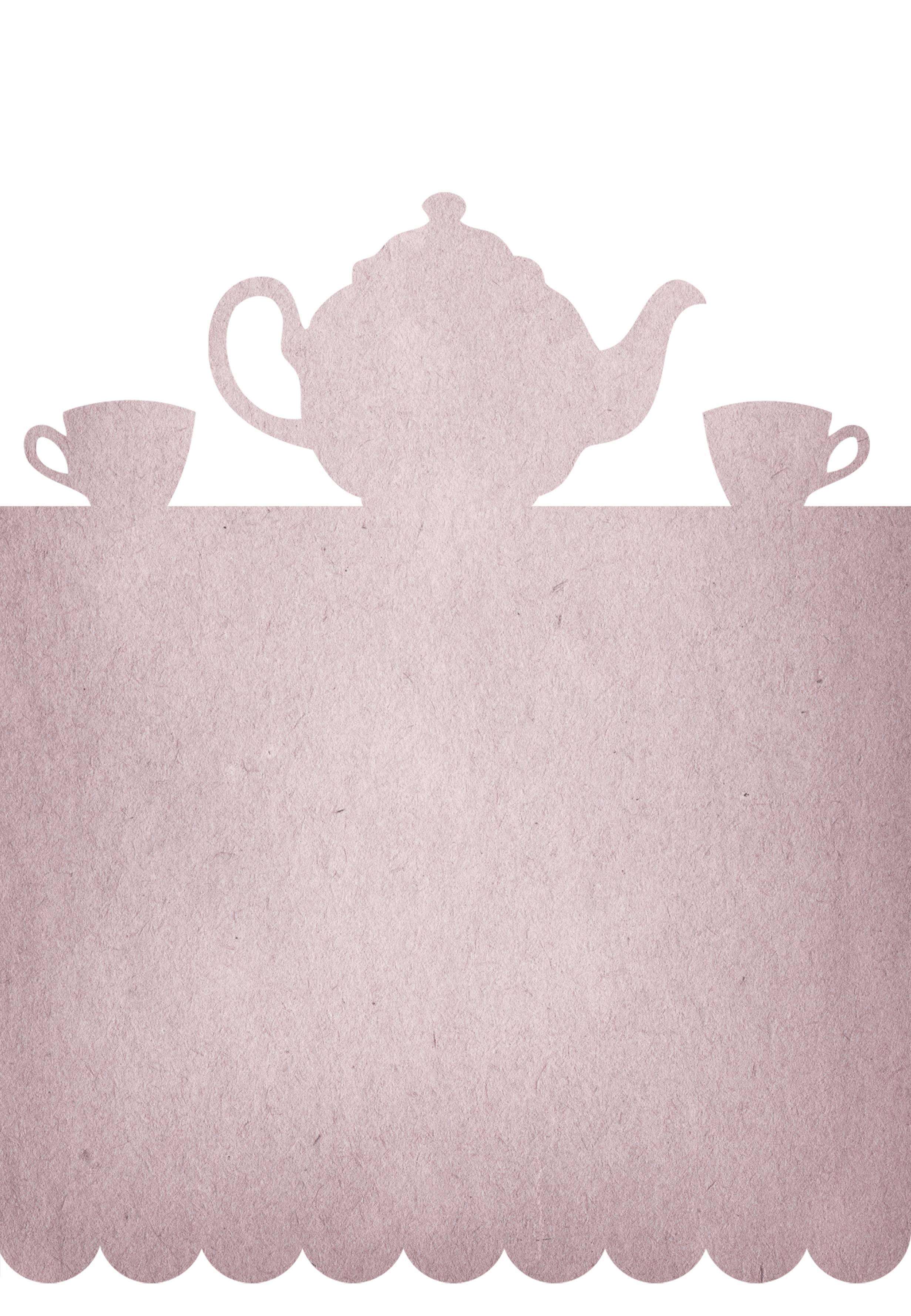 Kitchen Tea Party Invitation Templates