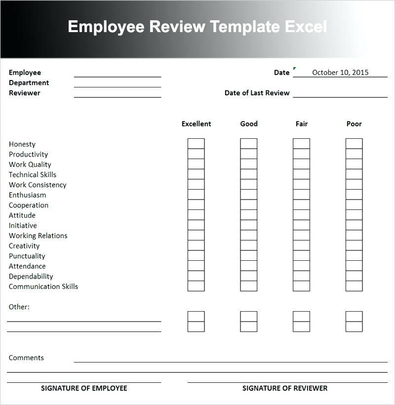 Kpi Template For Sales Staff