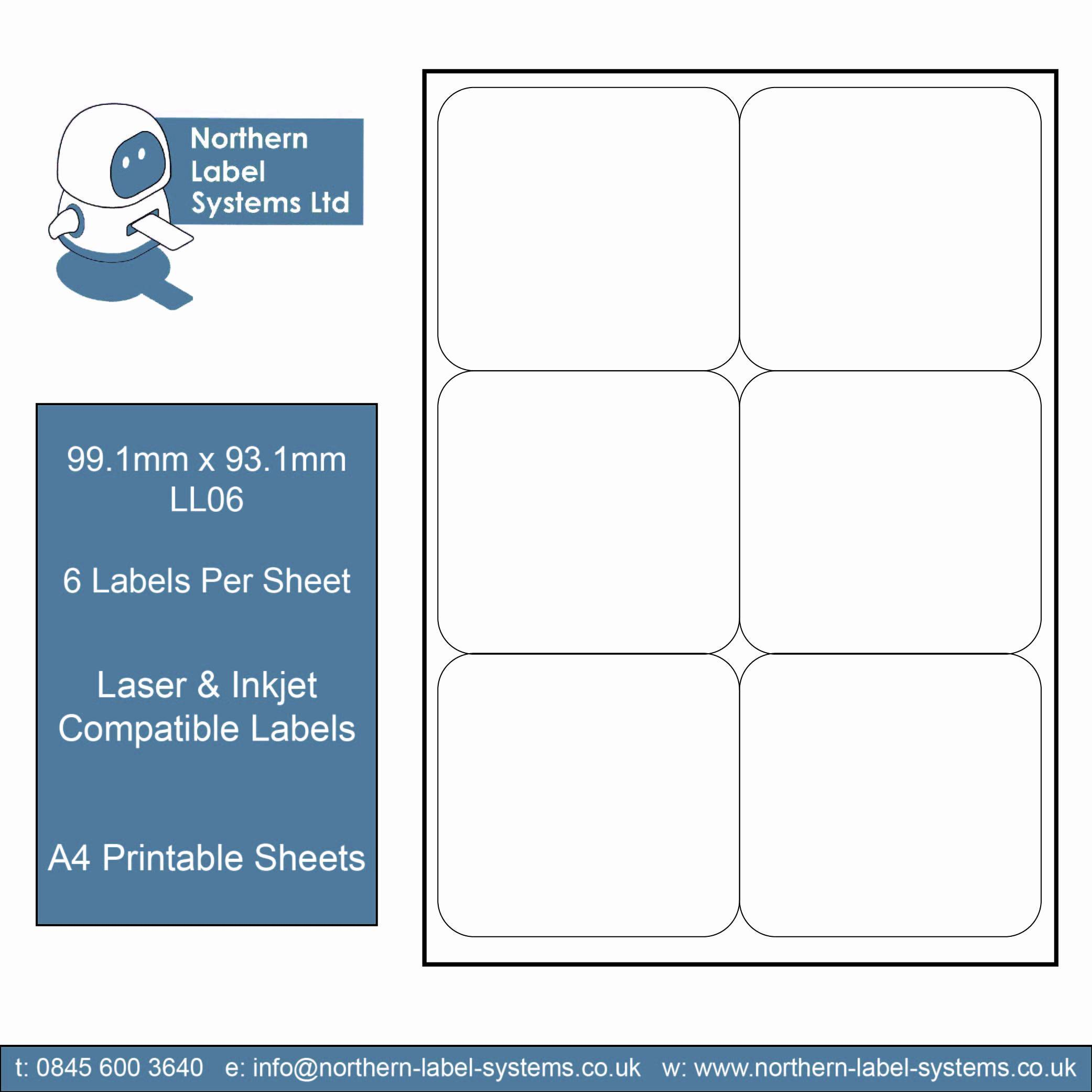 Label Printing Template 12 Per Sheet
