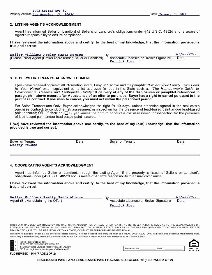 Landlord And Agent Agreement Template
