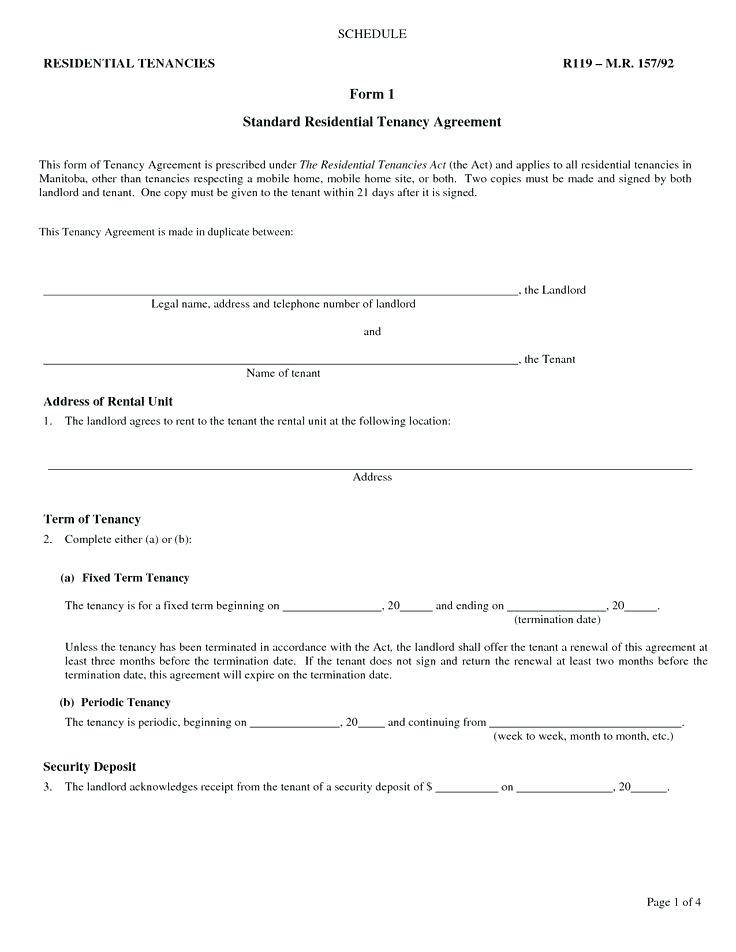 Landlord Contract Template Scotland