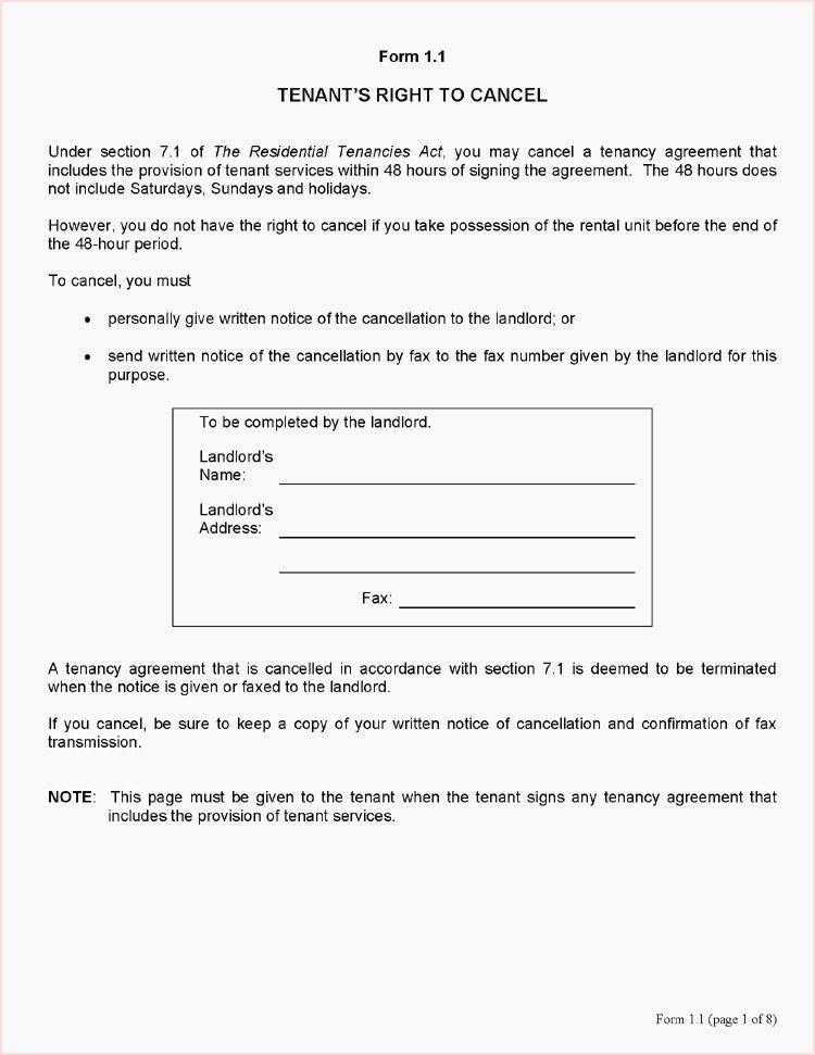 Landlord Tenancy Termination Letter Template