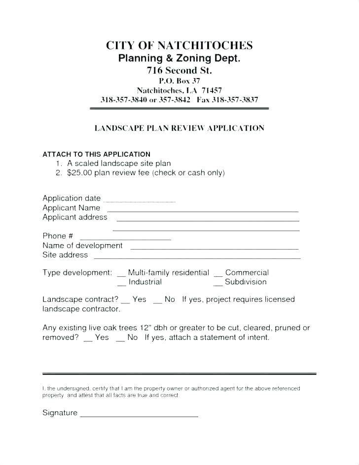 Landscaping Contract Proposal Template