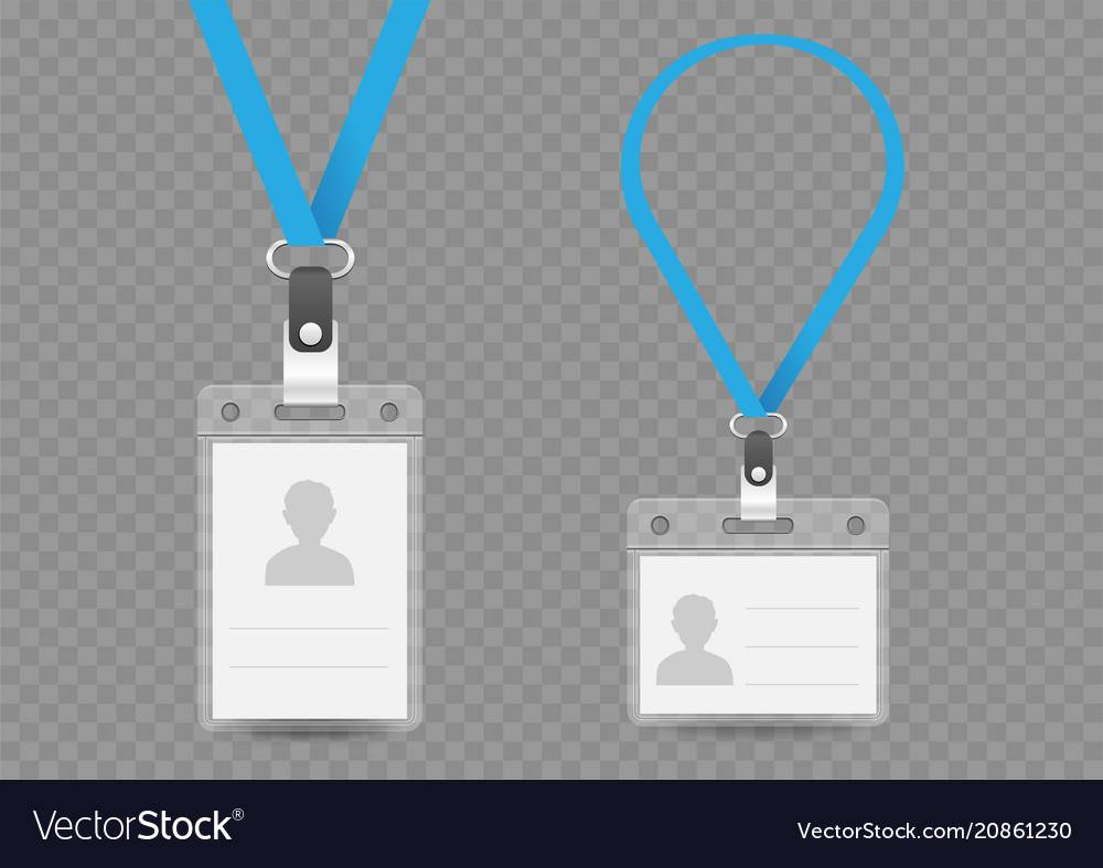 Lanyard Badge Template