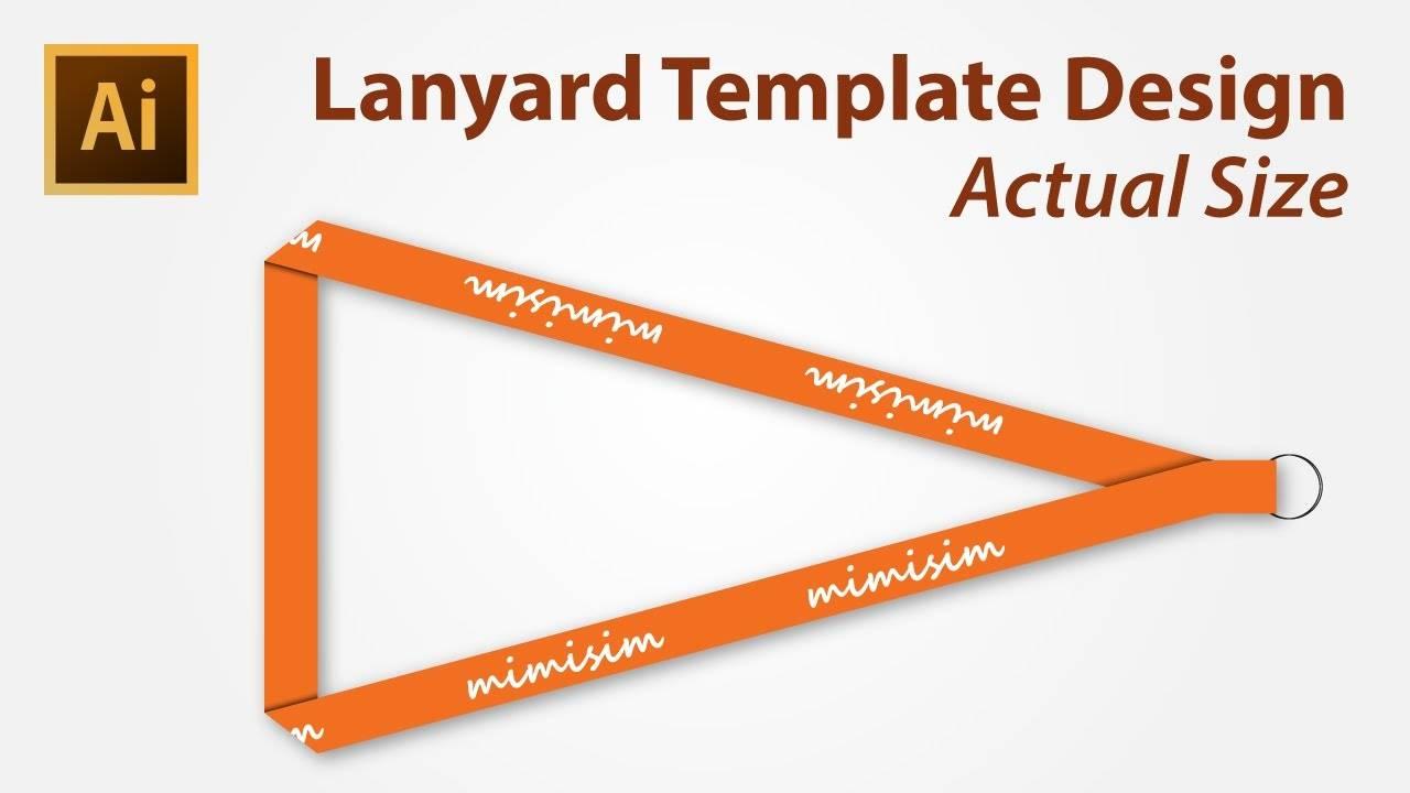 Lanyard Design Template Psd Free
