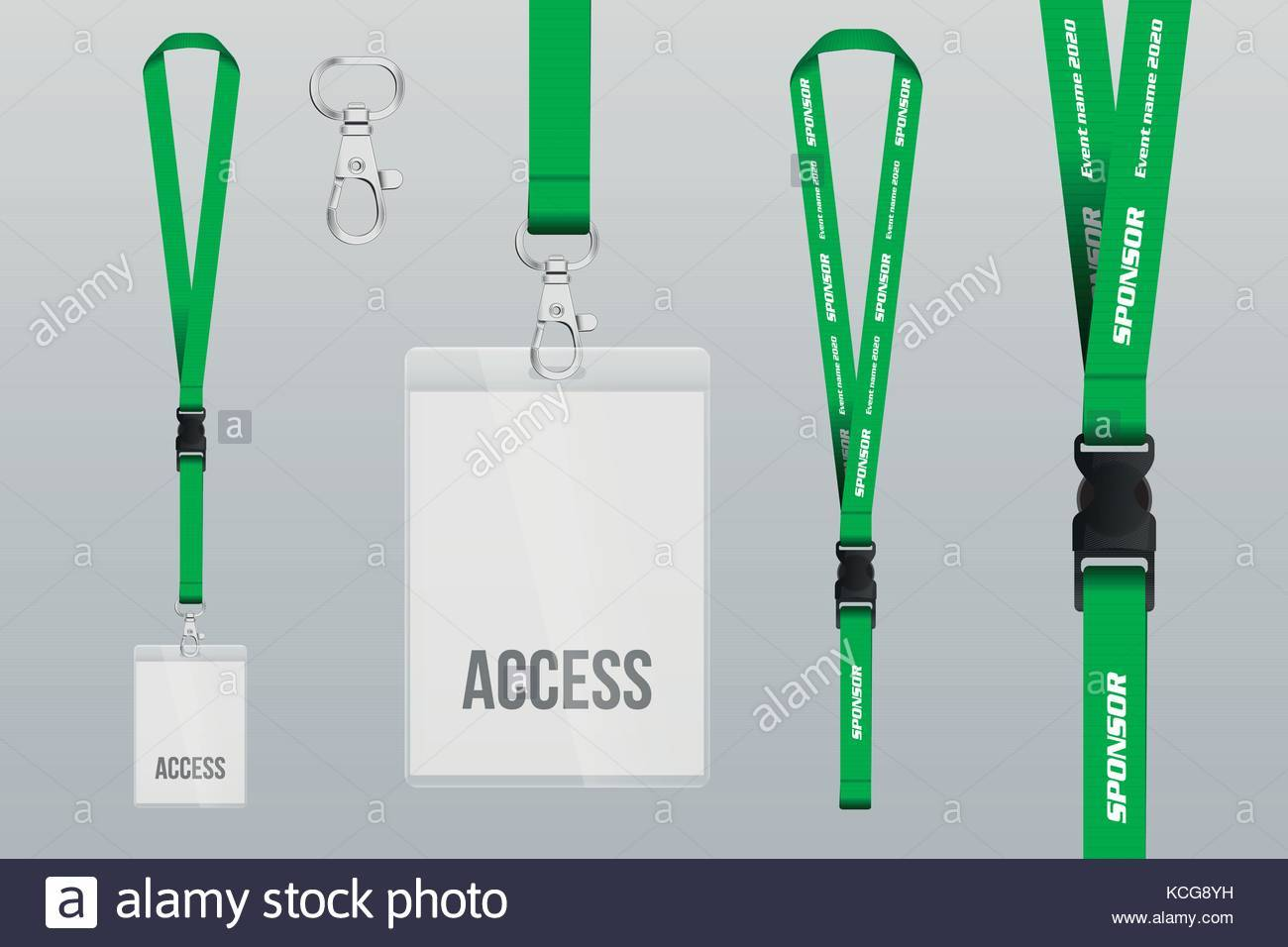 Lanyard Design Template