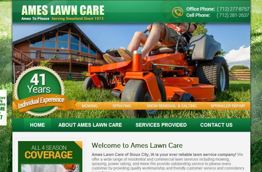Lawn Mower Website Templates
