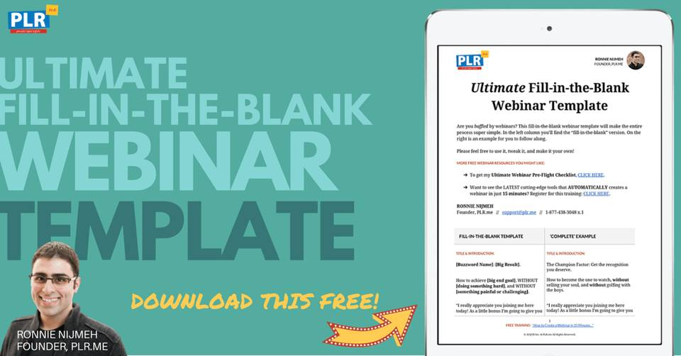 Leadpages Webinar Templates