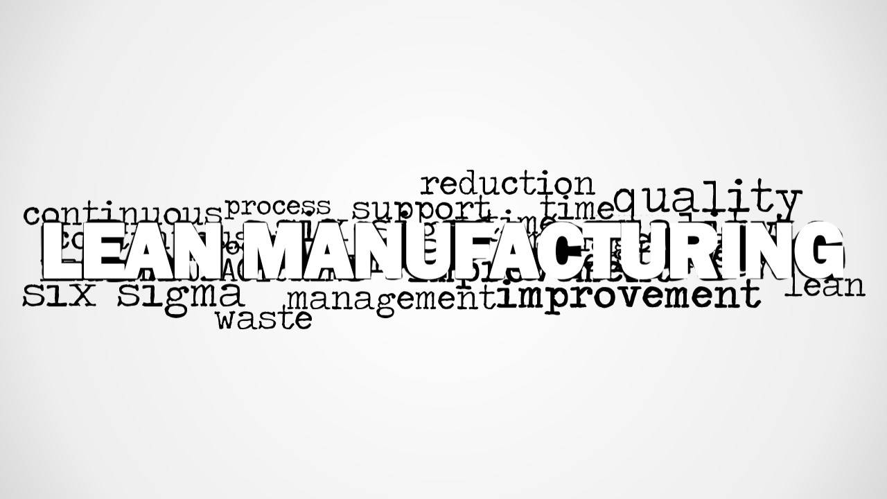Lean Manufacturing Powerpoint Templates