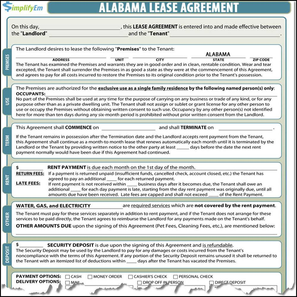 Lease Agreement Template Word Florida