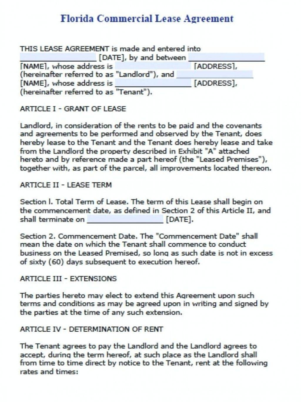 Lease Agreement Template Word Uk