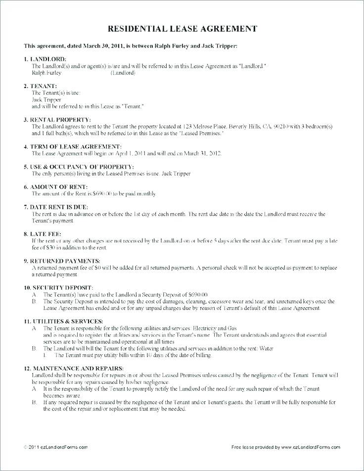 Lease To Own Vehicle Contract Template