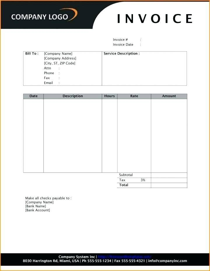 Legal Billing Templates