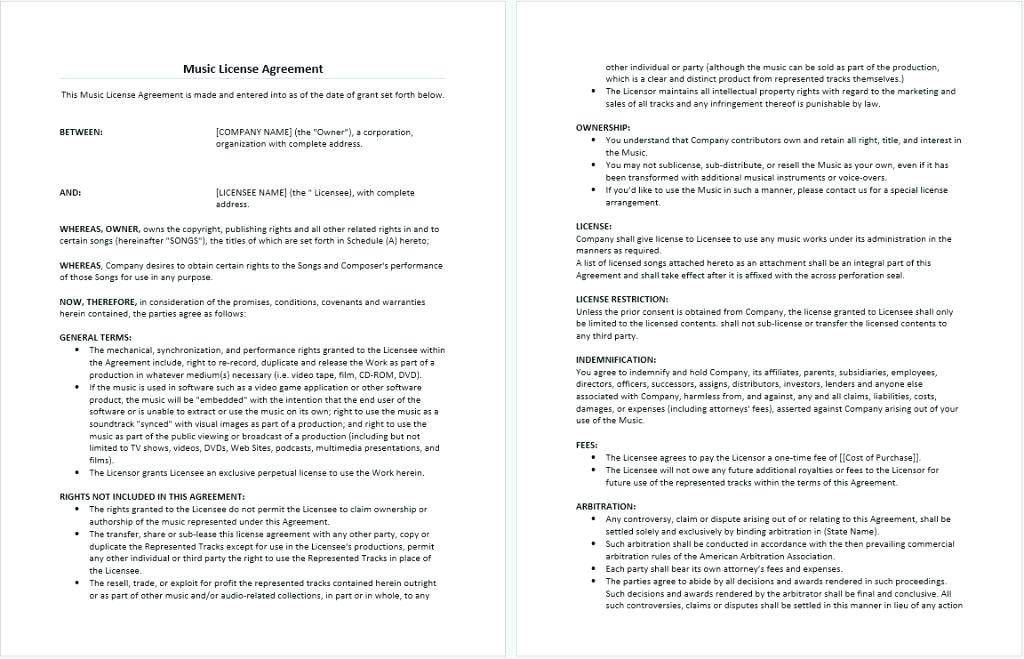 Legal Indemnity Agreement Template