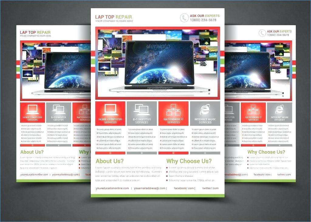 Legal Size Brochure Template Word