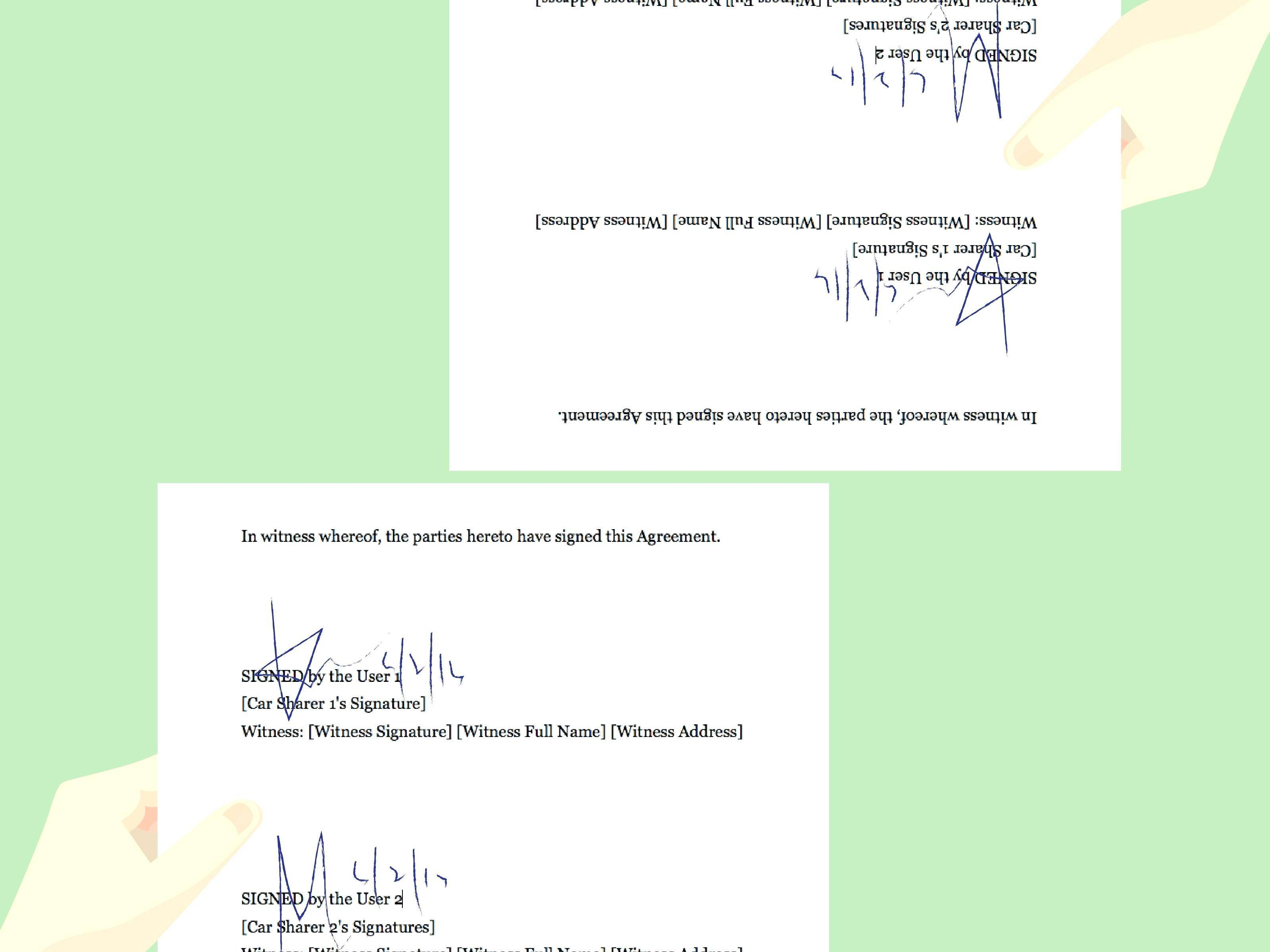 Legally Binding Contract Terms Examples Uk