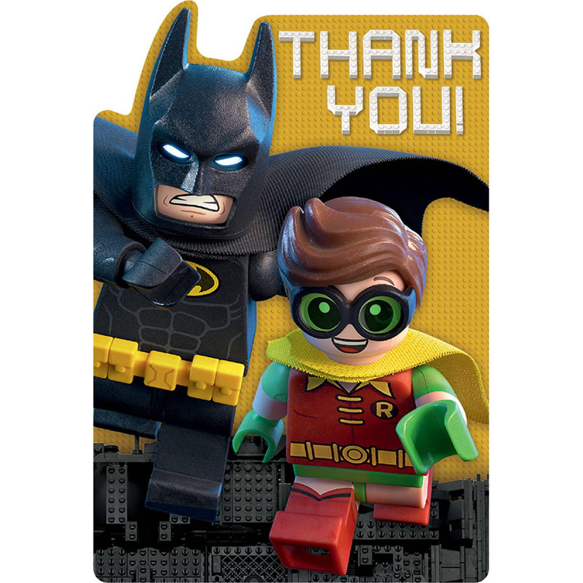 Lego Justice League Invitation Template