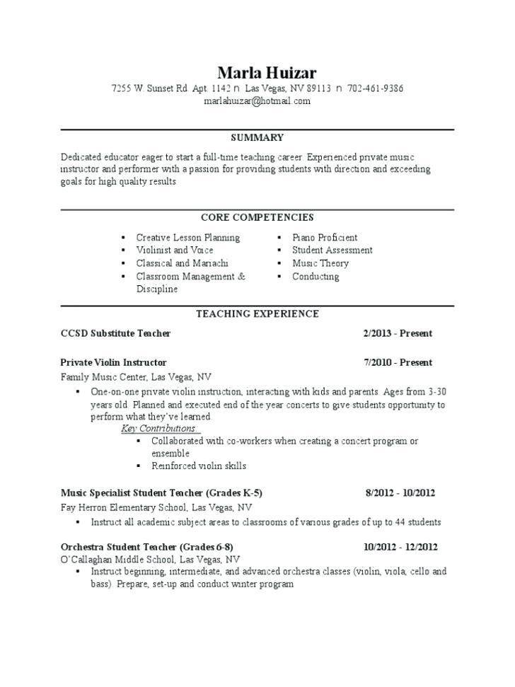 Lesson Plan Template For Middle School Chorus