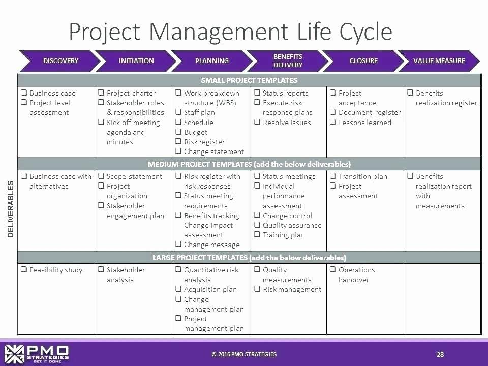 Lessons Learned Template Project Management