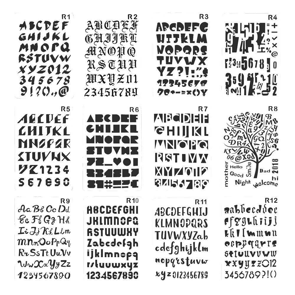 Letter Stencils Patterns