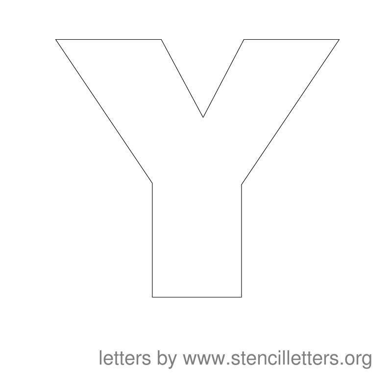 Letter Stencils Printable Large