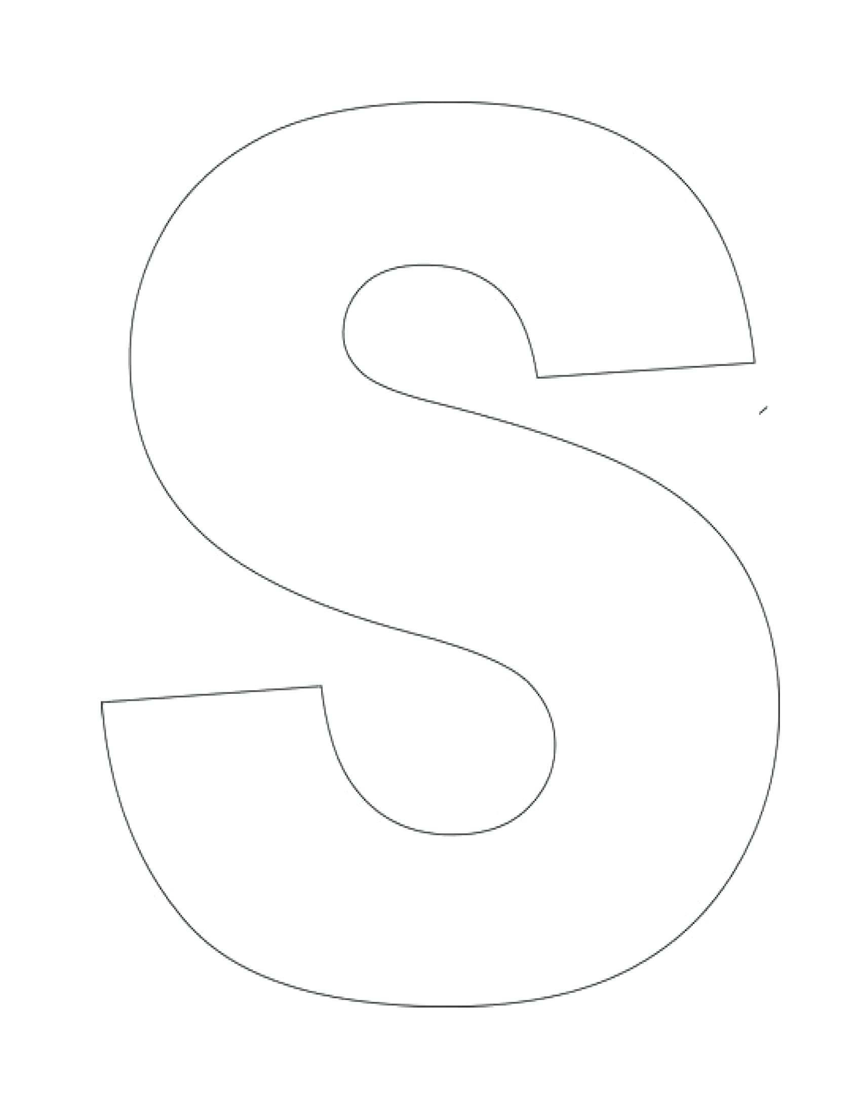 Letter Stencils Templates