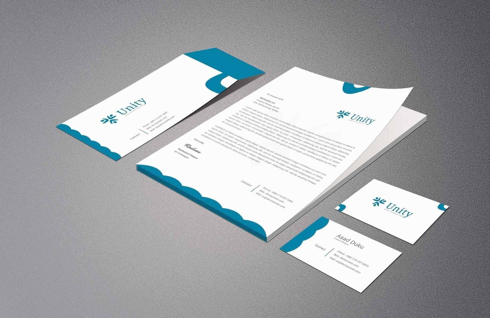Letterhead Design Templates Psd Free Download