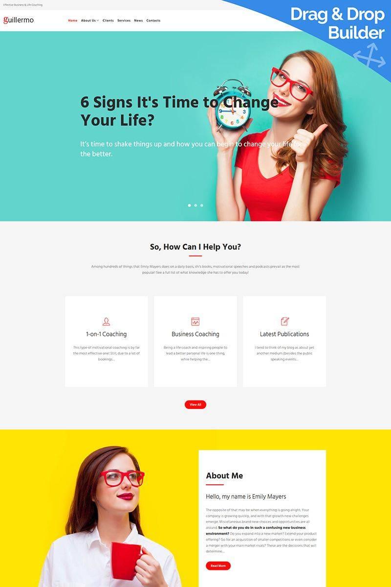 Life Coaching Website Template