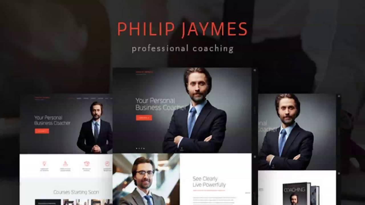 Life Coaching Website Templates