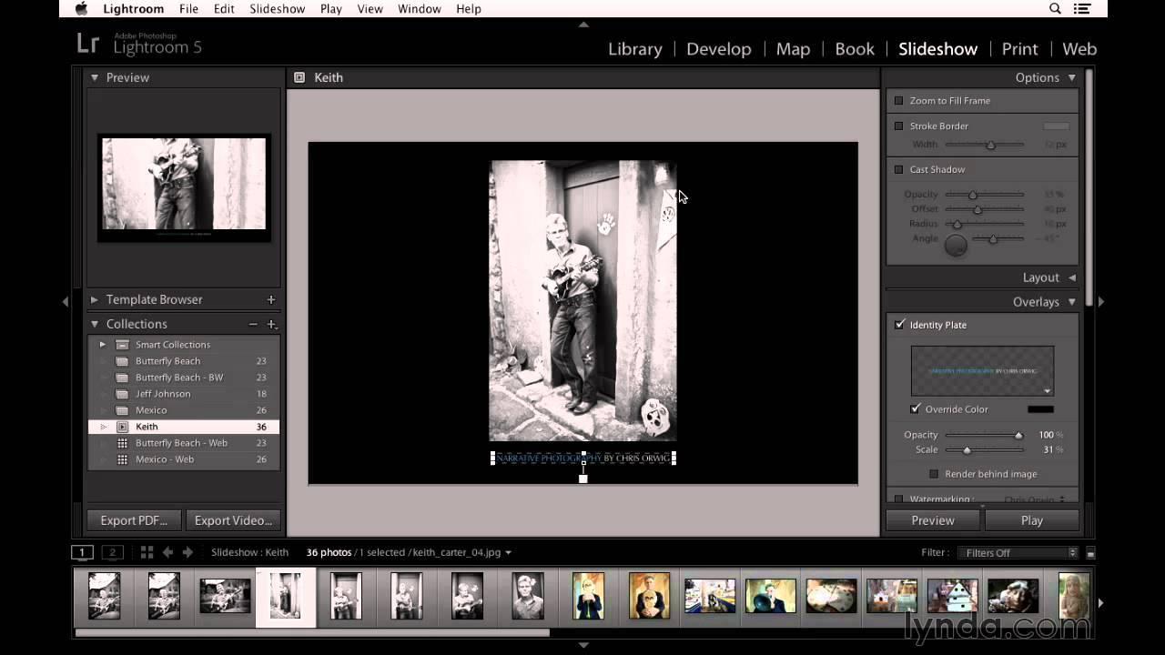 Lightroom Slideshow Templates Free