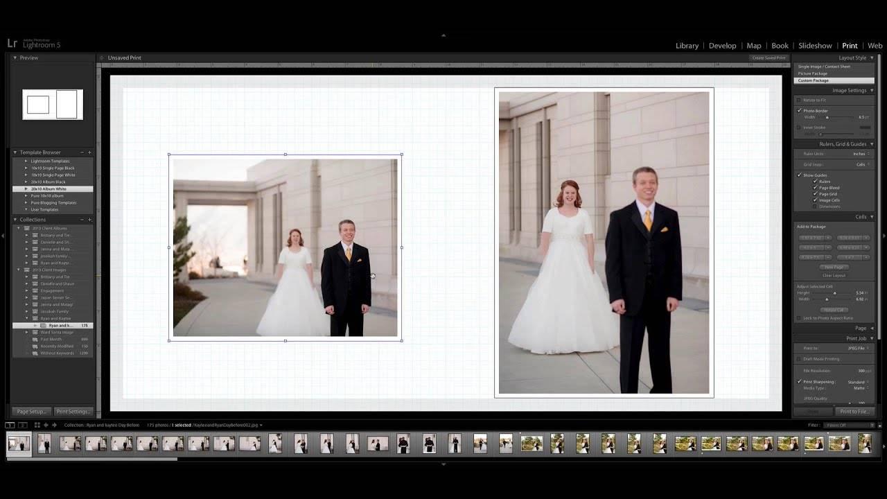 Lightroom Slideshow Templates Wedding