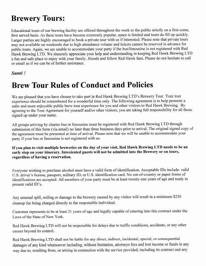 Limousine Contract Templates