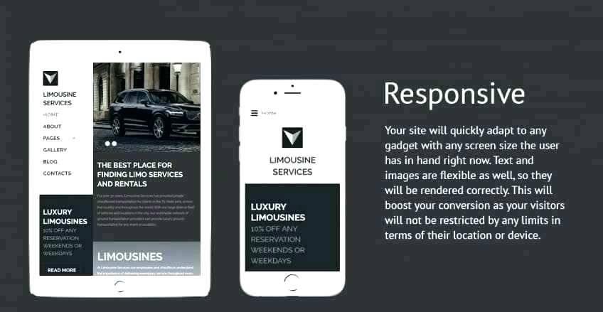 Limousine Website Templates Free Download