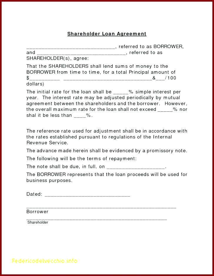 Loan Agreement Promissory Note Template