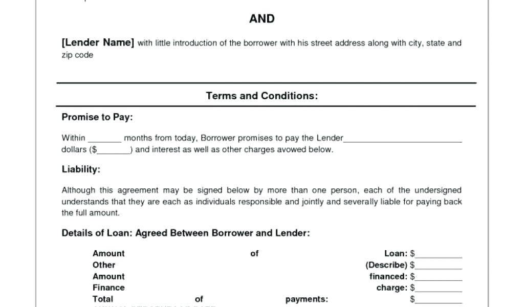 Loan Agreement Sample South Africa