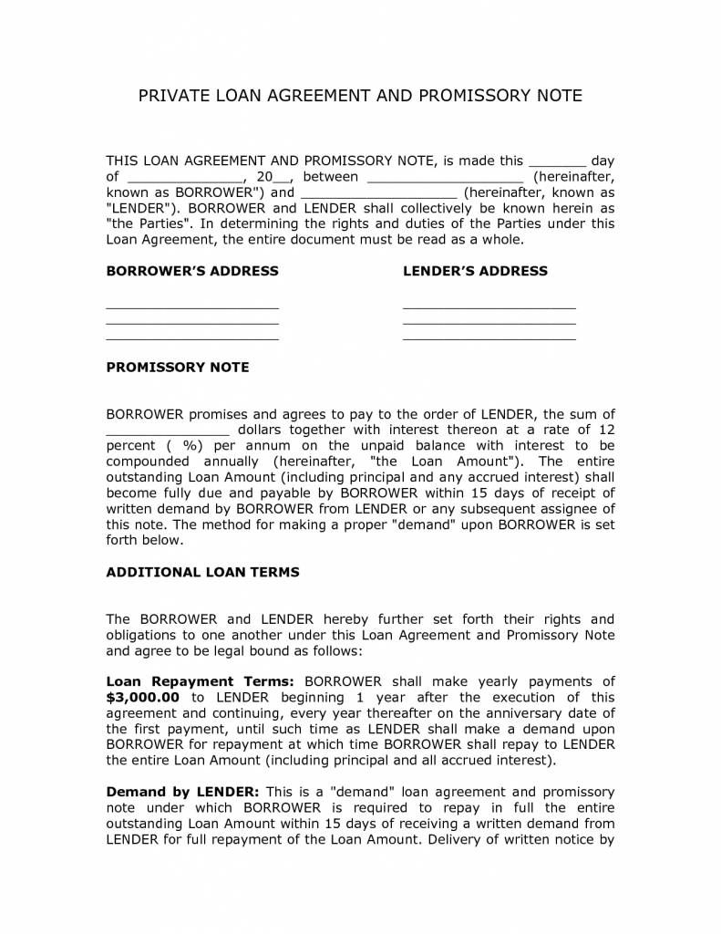 Loan Agreement Template Philippines