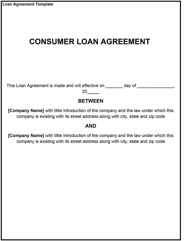 Loan Agreement Template Singapore