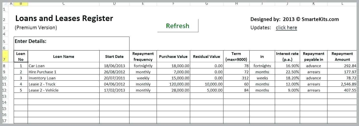 Loan Calculator Template Excel 2010